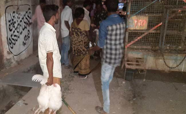 Corona Virus Effect: Rs. 25 For 2 Kg Hen And Rs. 50 For 2 Hens In Nalgonda - Sakshi