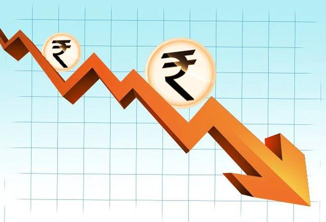 Rupee crosses 75 per US dollar for first time as fall continues - Sakshi