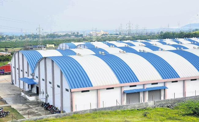 New warehouses for rice storage - Sakshi