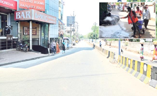 Corona Effect; High Alert In Visakhapatnam - Sakshi