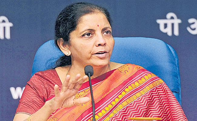 Nirmala Sitaraman Announces Financial package In Review Meeting With Industries - Sakshi