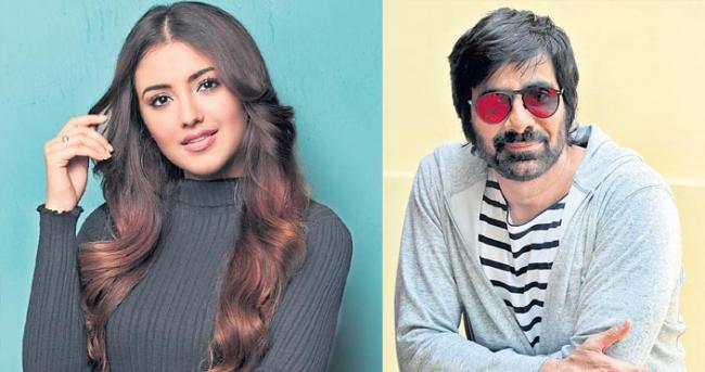 Malavika Sharma to team up once again with Ravi Teja - Sakshi