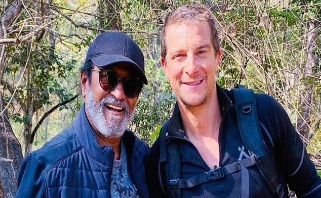 Rajinikanth Strong Reason For Taking Risk In The Wild With Bear Grylls - Sakshi