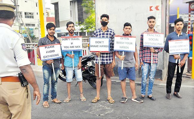 Janata Curfew is success in Telangana - Sakshi