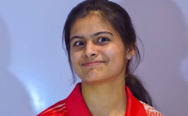 I Prepared For Olympics, Manu Bhaker - Sakshi