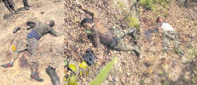 17 soldiers martyred in Naxlite ambush in Sukma - Sakshi