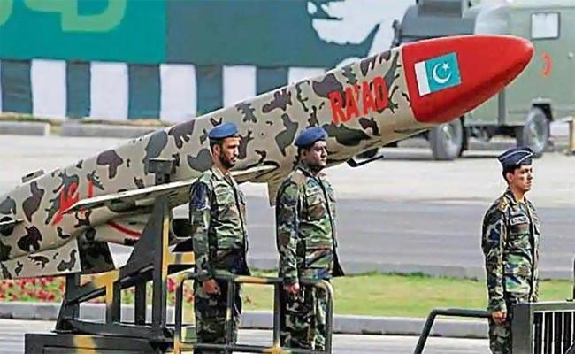 Pakistan 750km Range Missile Crashes - Sakshi