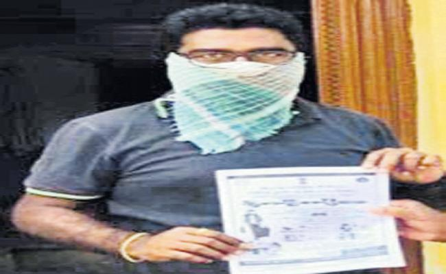 Case against a man who refused to home quarantine - Sakshi