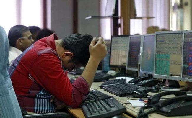 Sensex opens 2307 points lower  - Sakshi