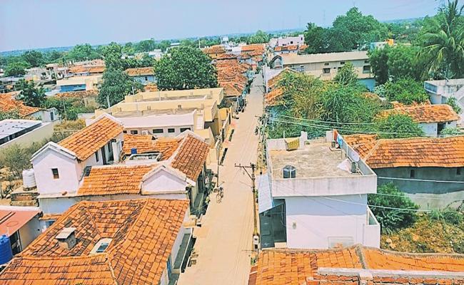 Villages support for the Janata curfew - Sakshi