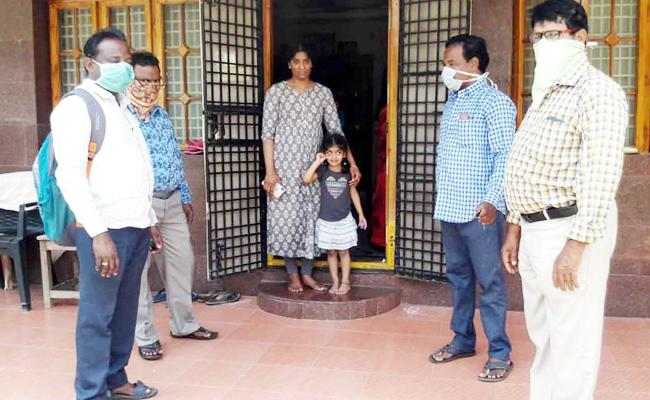 Health Department Focus on COVID19 Effected Families - Sakshi
