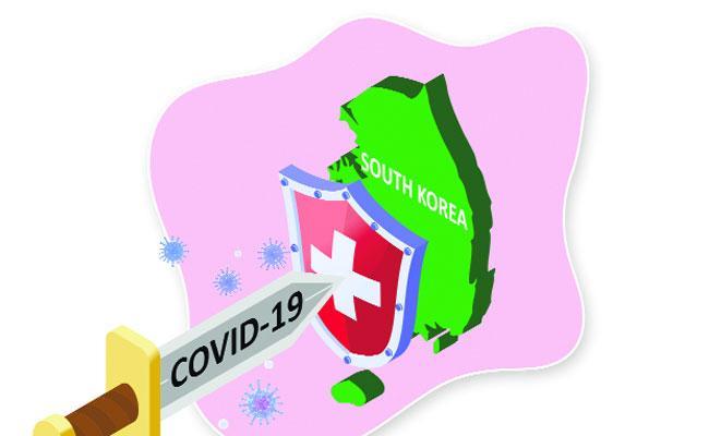 Coronavirus Cases Have Dropped Sharply In South Korea - Sakshi
