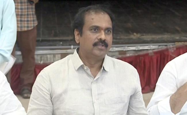 Minister Kurasala Kannababu Comments On Chandrababu - Sakshi