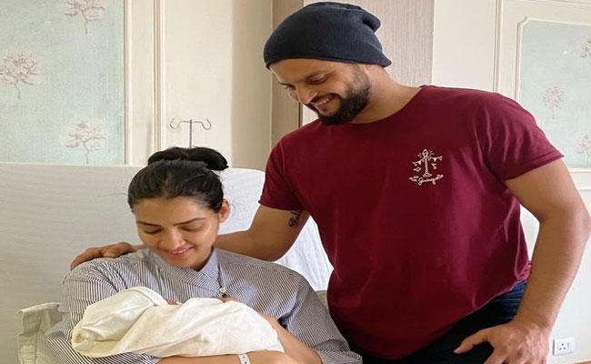 Suresh Raina And His Wife Priyanka Blessed With A Baby Boy - Sakshi