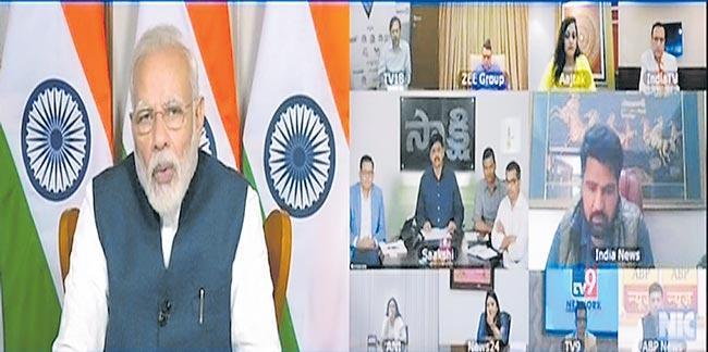 People not taking coronavirus lockdown seriously Says PM Narendra Modi - Sakshi