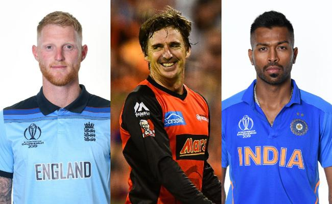 Brad Hogg Opinion Into The Better All Rounder Between Hardik And Stokes - Sakshi