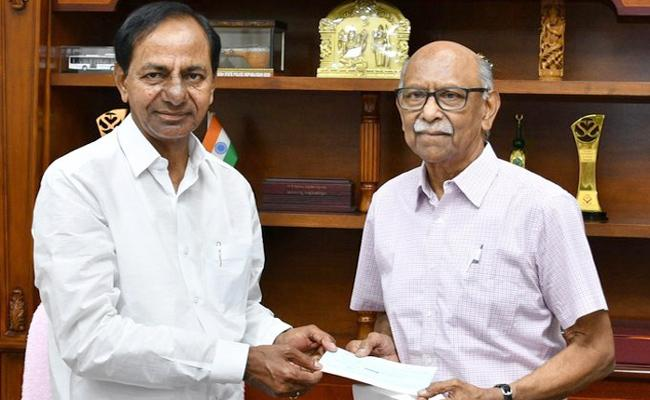Covid 19 Anupama Nadella Donates Rs 2 Crore To Telangana CM Relief Fund - Sakshi