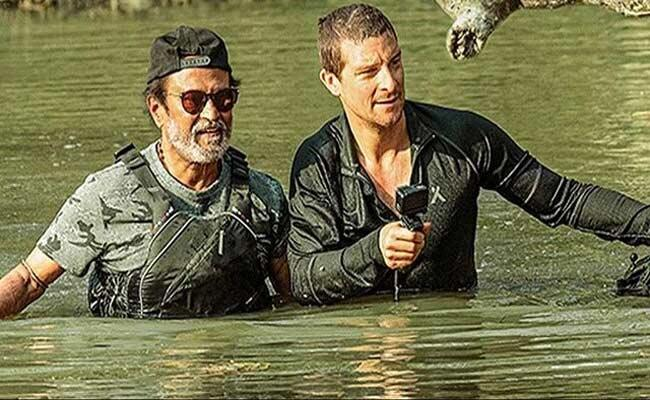 Rajinikanth Into The Wild With Bear Grylls Release Says Age Is a Number - Sakshi