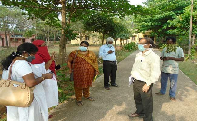 London Return Person Suspicion Coronavirus In Visakhapatnam - Sakshi