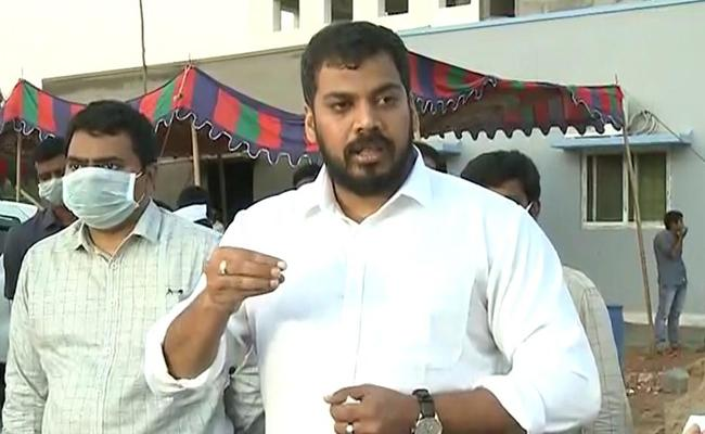 We Will Bring Back Kashi Pilgrims From Kashi Says Minister Anil Kumar Yadav - Sakshi