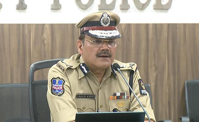 CP Anjani Kumar Press Meet On Lock down and On Control of Corona Virus - Sakshi