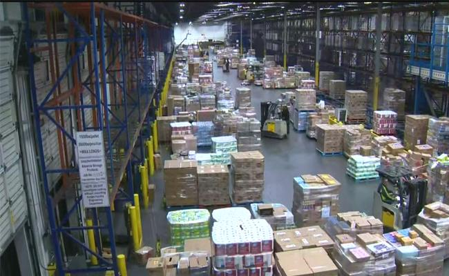 As Lockdown Impedes Online Grocery Deliveries Suspends - Sakshi