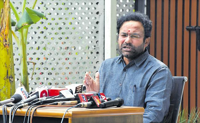 Kishan Reddy Comments On Covid-19 Prevention - Sakshi