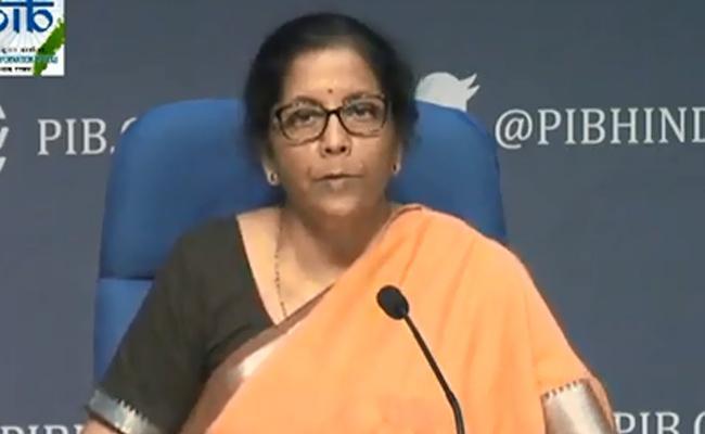 Corona virus: FM Nirmala Sitharaman Announces Relief package - Sakshi