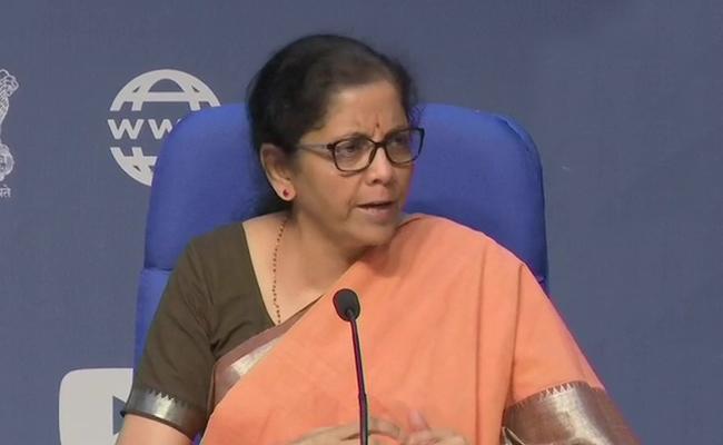 Finance Minister Reveals Stimulas Packagea - Sakshi