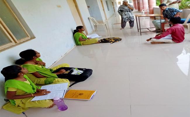 Case File Against Bellankonda College on Secret Classes - Sakshi