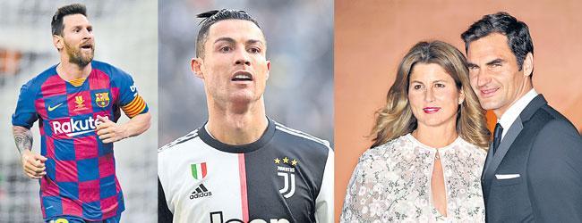 Football And tennis celebrities donate big amounts to coronavirus battle - Sakshi