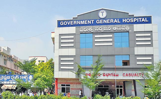 Prepared 4 hospitals with all the Facilities - Sakshi