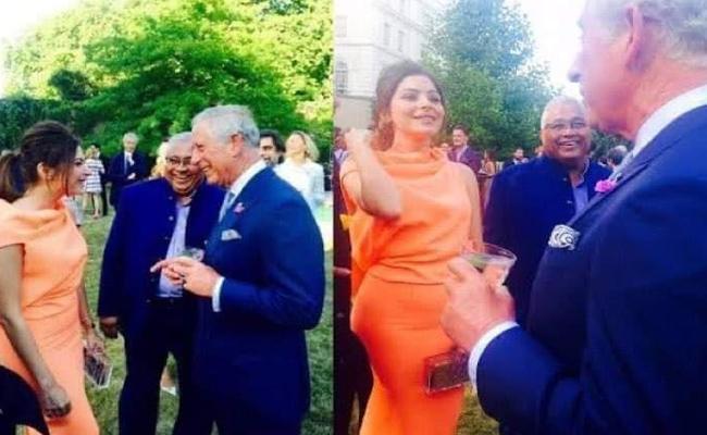 Kanika Kapoor With Prince Charles Old Photos Goes Viral - Sakshi