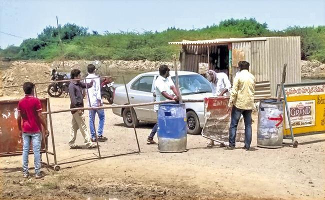 Self Quarantine of People Throughout Andhra Pradesh - Sakshi