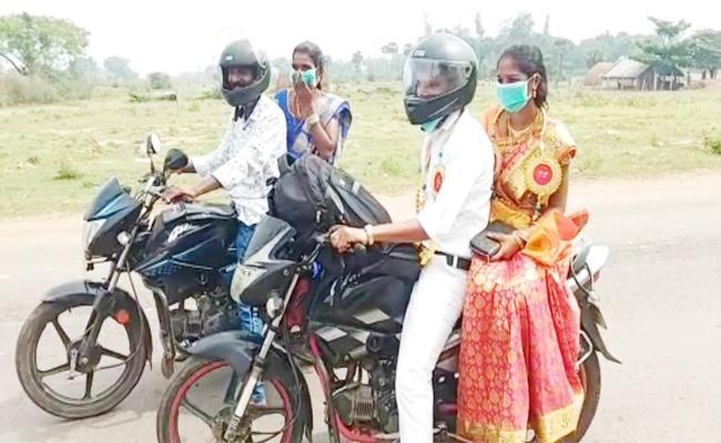 Lockdown Effect on Newly Married Couple Srikakulam - Sakshi