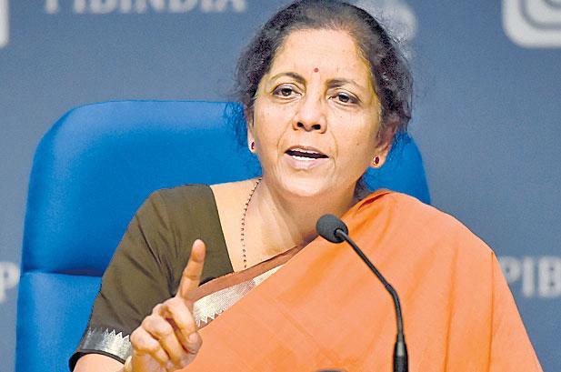 Nirmala Sitharaman says bank merger process till April 1 - Sakshi