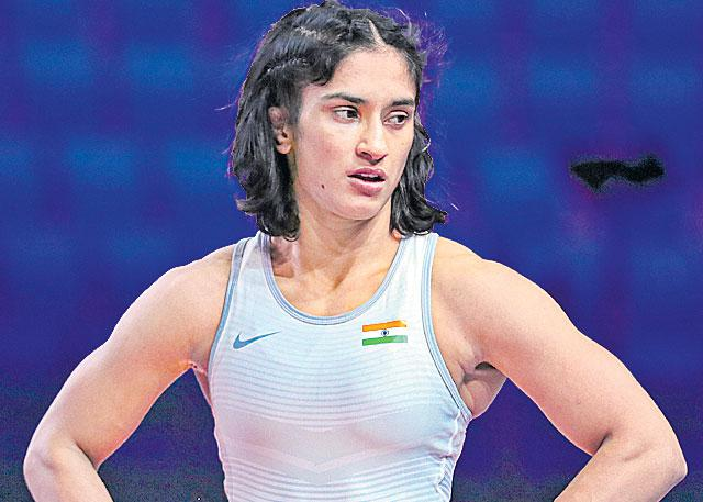 Olympics postponement was Vinesh is worst fear - Sakshi