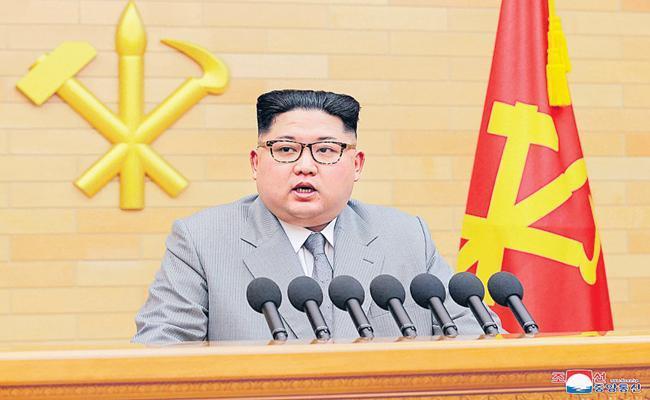 North Korea Secretly Seeking Help For Coronavirus Testing Report Says - Sakshi