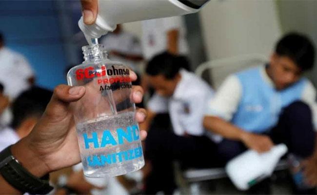 Prisoner Dies After Allegedly Mistaking Sanitiser For Alcohol In Kerala - Sakshi