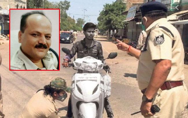 Ujjain SHO Warning Over Outdoor Gatherings Gets Him Suspended - Sakshi