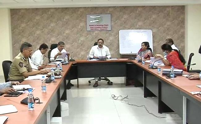 AP Ministers Committee Meeting On Corona Control Measures - Sakshi