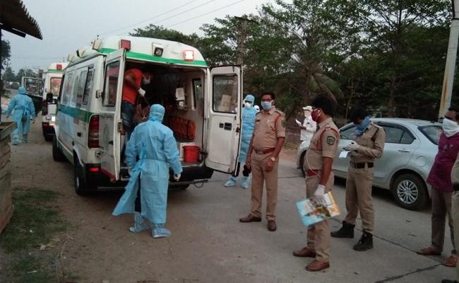 Two Corona Positive Cases Registered In Venkatapuram Visakha District - Sakshi