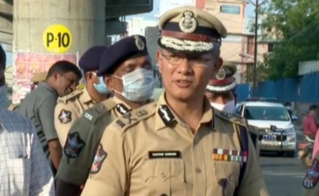 Cases to be file on rules breakers says Corona virus Dgp Goutam Sawang - Sakshi