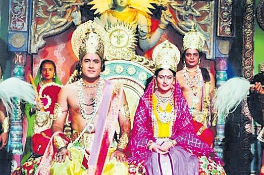 Ramayan to be retelecast on Doordarshan amid lockdown - Sakshi