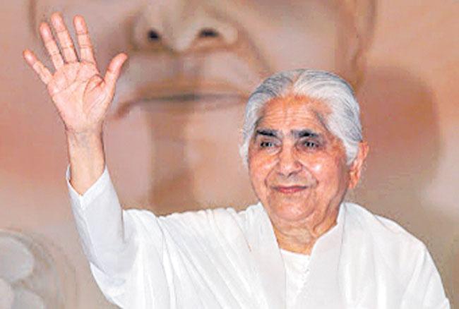 Brahmakumaris chief Dadi Janki passes away - Sakshi