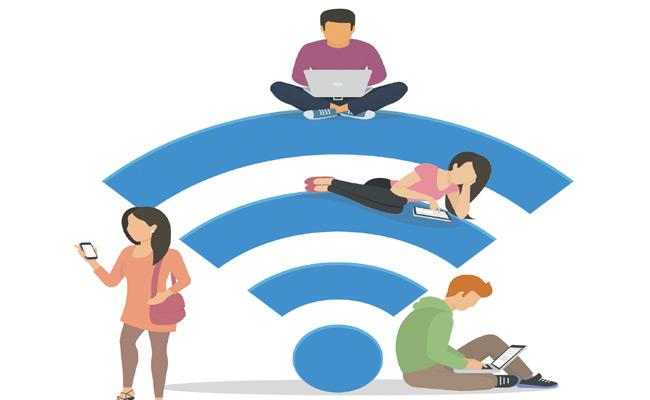 Internet Usage Increased By 30 Percentage Due To Lockdown In Telangana - Sakshi