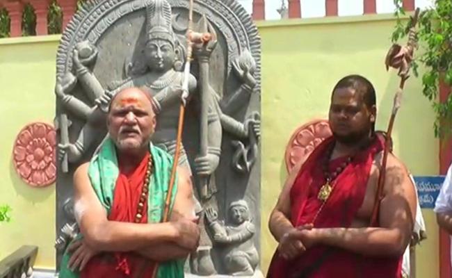 Swaroopanandendra Saraswati Said The Public Should Follow YS Jagan And KCR Orders - Sakshi