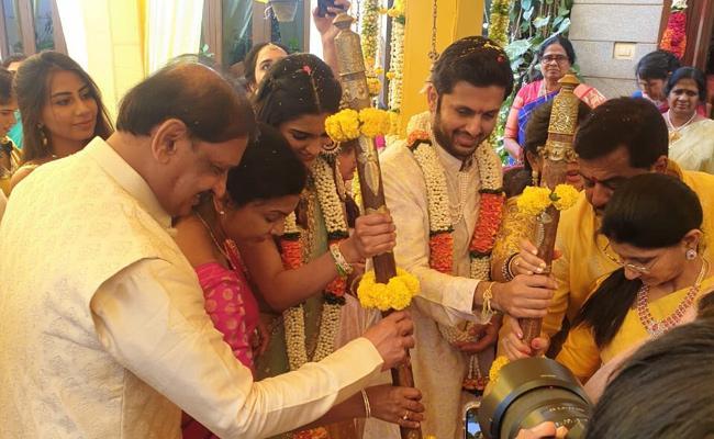 Corona Effect: Hero Nithin Gives Clarity On His Marriage - Sakshi