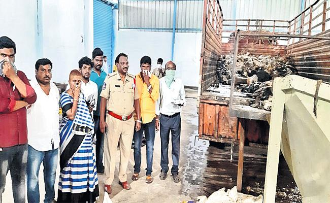 Animals Dead Bodies in Shed Rangareddy - Sakshi