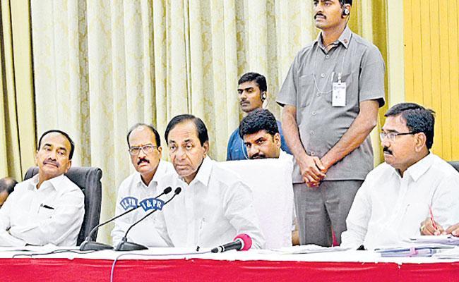 CM KCR Press Meet In Pragathi Bhavan About Lockdown Condition In Telangana - Sakshi